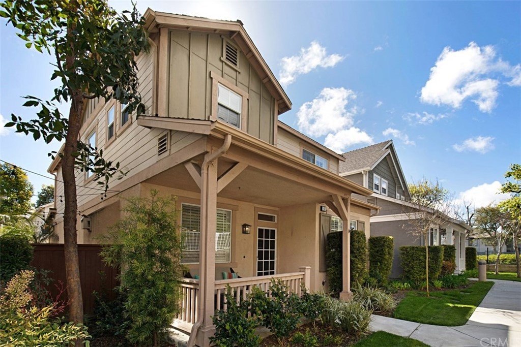 Nestled in the highly sought out community of Twelve Picket Lane is this charming Cape-Cod townhome in the heart of Aliso Viejo. Enter through the front porch & notice the abundance of natural light. A true open floor plan welcomes you with a romantic dining room with plantation shutters & warm fireplace. The living room offers recessed lighting, prominent white shutters & cherry wood floors. The kitchen is complete with a breakfast bar & offers maple cabinetry, granite countertops, stainless steel appliances, which include a dual-drawer dishwasher, 6-range gas stove, trendy farm sink, under counter lighting with a sizable pantry.  Downstairs has a convenient half bath with a storage area. A guest closet plus DIRECT ACCESS to the two-car attached garage & direct access to the patio. Upstairs is the master suite with plantation shutters & a huge WALK-IN closet.  The master bath offers dual vanities, a large roman tub & walk-in shower.  The additional two bedrooms are good in size, both feature closets with one room featuring a nice large walk-in closet.  The bedrooms share a connecting full bath with dual vanities, tub, shower & plenty of cabinet space. Inside laundry can be found at the top of the upstairs landing. BONUS! Washer & dryer are included!  Backyard allows for plenty of space for one to relax with friends & family.  Award-winning schools, enjoy summertime in the HOA pool & spa. Nearby shopping, restaurants, theaters, freeways & minutes from the beach. FHA Approved!