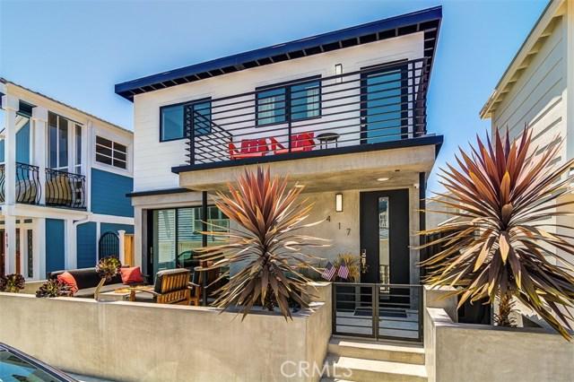 417 Harding Street | Balboa Peninsula (Residential) (BALP) | Newport Beach CA