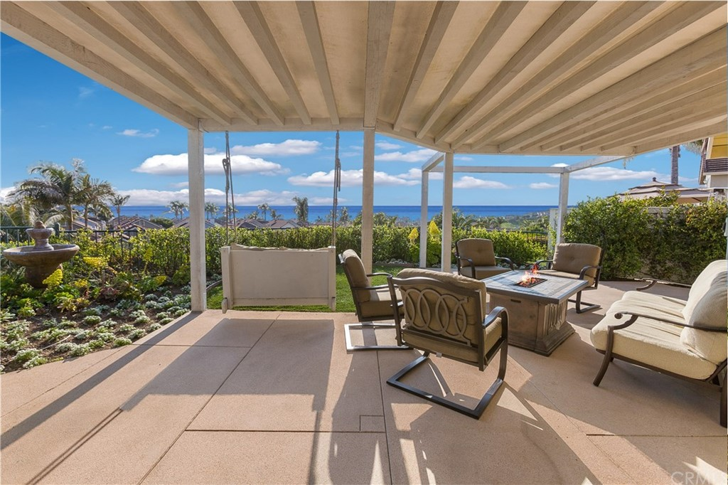 Welcome to this gorgeously remodeled one story ocean view home. This two bed two bath has everything you need. It has a wonderfully functional entertainer's backyard that is low maintenance and allows for easy enjoyment of the Catalina and San Clemente Island views. The remodeled kitchen features quartz counter tops and white cabinets that are constantly illuminated by the ample natural light. The kitchen opens into the dining/living room creating a very open floor plan that is great for entertaining. The second bedroom opens up to the living room and shares the ocean view. The master bedroom is very large and inviting featuring vaulted ceilings. The master bathroom is remodeled with a walk-in shower with an extra-large opening. This is the perfect starter house for beach lovers or for those looking to downsize! Come check out this turnkey dream today!