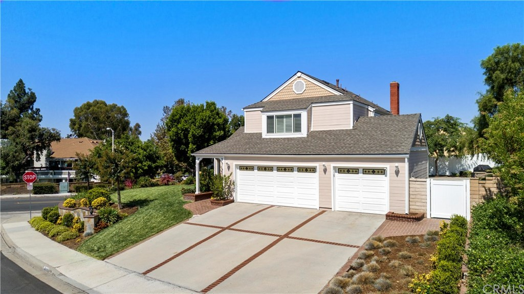 Must See! Rare opportunity to own a Beautifully Upgraded Home in highly desirable Lake Forest neighborhood with low tax & no Mello-Roos. Located on a huge Corner Lot with Rare 3 Car Garage! Light & Bright Home features well-designed Open Floor Plan with Indoor Laundry, Remodeled Kitchen that includes Upgraded Cabinets, Granite Countertops, Newer Stainless Appliances (2019), Coffered Ceiling & Recessed Lighting. Off Kitchen is a Breakfast Nook & Spacious Family Room with Gas Log Fireplace, View & Access to Large Wraparound Yard, Patio, Pergola & Beautiful Landscape. The Formal Living Room & Dining Areas feature Vaulted Ceiling, Crown Molding, Plantation Shutters, Designer Chandeliers & Rich Bamboo Flooring (throughout the lower level). Master Suite Features Vaulted Ceilings, Lighted Fan, Dual Closets, Dual Vanities with Granite Countertops, Separate Tub, Walk-in Shower with Glass Enclosure & Stone Surround. Secondary Bedrooms & Bathrooms have all been Upgraded & Remodeled. Additional Upgrades & Amenities include: Roof Replaced (2013), Nest Thermostat, Ring Doorbell, Panel Doors, Dual Pane Windows & Slider, Plantation Shutters & Blinds, Crown Molding & Enhanced Baseboards, Ceiling Fans, Vinyl Fence & Gate (2016), Newer HVAC Ducting (2017), Whole House Fans (2019) and… Richly Designed Hardscape/Landscape with an abundance of Grass, Trees, Shrubs, Custom LED Lighting, Automated Sprinklers & Drip System that create a delightful Entertainer's Yard and Prideful Curb Appeal (2017)