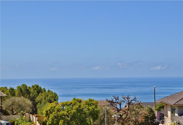 ONE LEVEL home with fabulous Ocean & Catalina Views Spacious Family Room with fireplace and built in bookcases. Separate formal Dining Room in addition to informal dining adjacent to kitchen and family room. Spacious Master Suite. Newer carpeting throughout with formal tile entry. Corner lot with plenty of side yard and back yard with tile patio. Easy access to freeways,Long Beach airport, Palos Verdes schools and Marymount College. This one is a Winner!!
