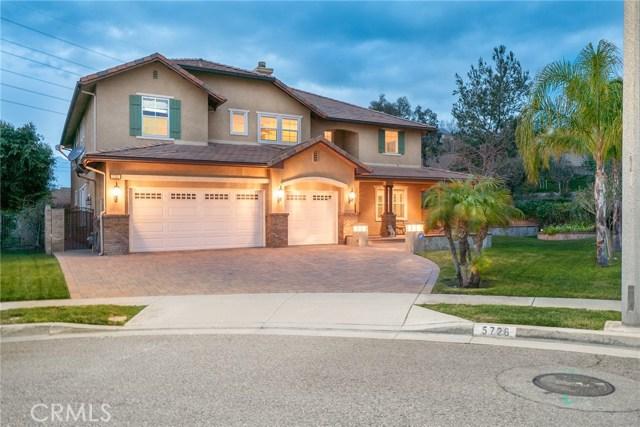 5726 Chandler Court, Rancho Cucamonga, CA 91739
