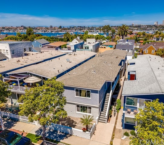 BACK ON MARKET! 4 Prime units located in the community of Peninsula Point, a Newport Beach playground surrounded by Mega-Million dollar Waterfront homes & anchored by the world-famous Wedge. This extra large 4-plex offers an excellent unit mix including a 3 bedroom/3bath, two 2 bedroom/2 baths and one 1 bedroom/1bath. New Electrical, Plumbing, Windows, Flooring, Appliances & more! New Roof in 2012. Ideal for 1031 Exchange. A solid investment property in one of Newport's most sought-after areas.