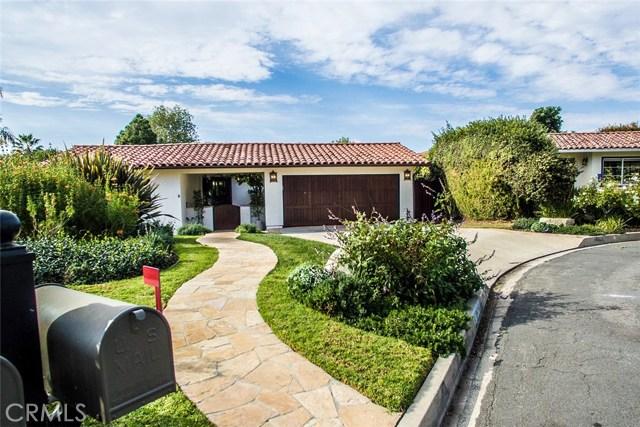 1041 Via Palestra, Palos Verdes Estates, CA 90274