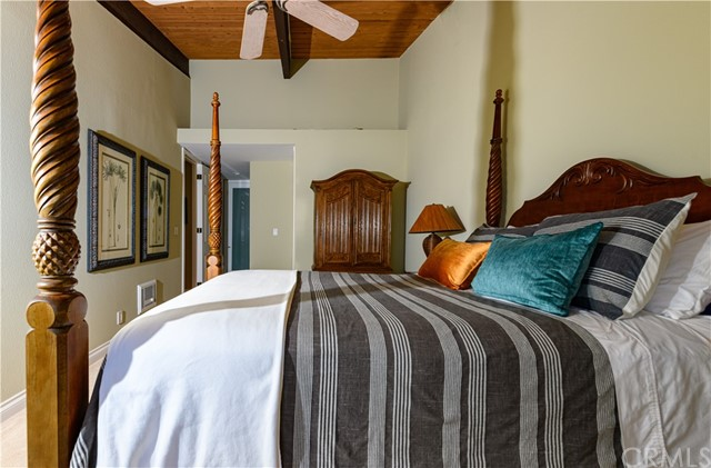 View of Master Bedroom with ensuite at far end