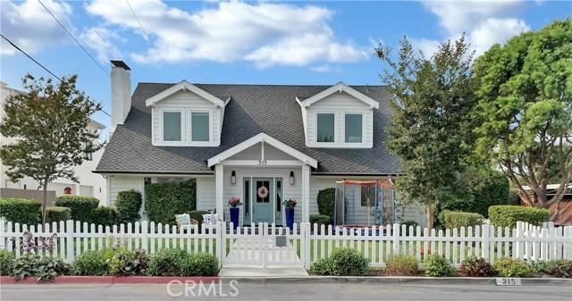 315 Aliso Avenue      Newport Beach CA