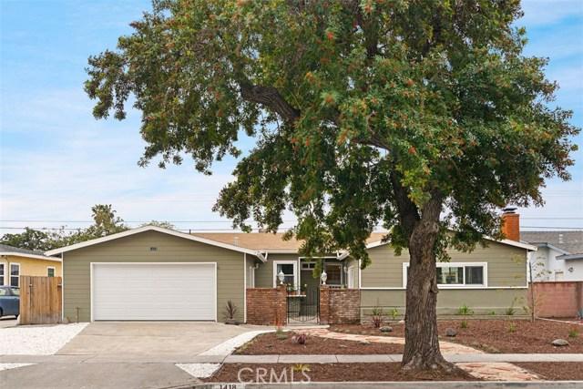 1418 W Baker Avenue, Fullerton, CA 92833