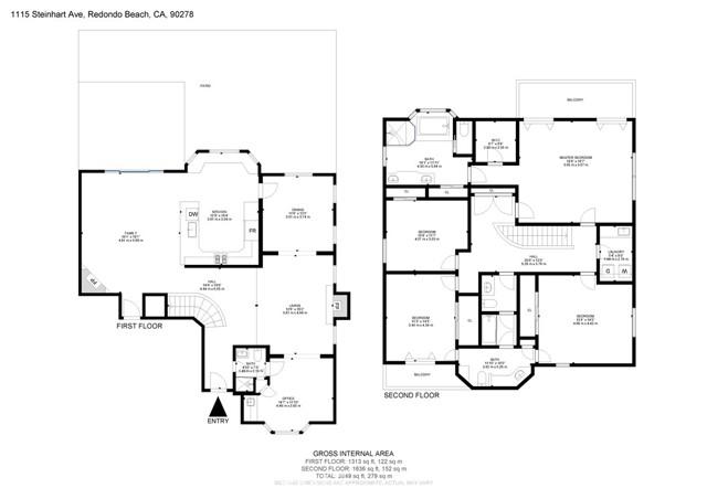 1115 Steinhart Avenue, Redondo Beach, California 90278, 4 Bedrooms Bedrooms, ,2 BathroomsBathrooms,For Sale,Steinhart,SB21066086