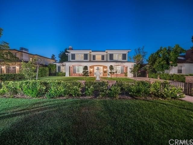 This rare to find Custom Built Luxury Masterpiece sitting on an approx. 25,000 sqft lot has total 8,910 sqft bldg sizes including 6,764 sqft living space in the Main House, 1,270 sqft Basement and an 876 sqft ADU in the back yard. Best location with Excellent Schools and walking distance to Baldwin Stocker Elementary! The ADU has 2 Beds 2 Baths, Living Room and a Kitchen which can be rented with the Main House together for $12,500/Month. Rent includes Pool and Gardner Services. All furniture are included in rent as well! Solar System is PAID OFF and almost NO electricity bills! IT HAS EVERYTHING YOU COULD IMAGINE!  It boasts Top of the Line Materials and Workmanship with Manicured Landscape. Main House features 5 Beds 6 Baths with 1 Suite & an Additional Large Office Downstairs. Gourmet Kitchen features High End Appliances plus an Additional Asian Kitchen. Basement offers a Luxury Temperature Controlled Winery Room w/a Wet Bar, an Entertainment Room & a Home Theater. Upstairs Master Suite features a Large Balcony, Walk-in Closet and a luxurious Master Bath w/Dual Sinks. Three other Bedrooms with their own full Bathrooms and a spacious Open Loft Area complete the second floor. The lot includes a Heated Pool, Spa, Basketball Court, Playground, Vegetable Garden and BBQ Area! Other features include Camera Security System, Wired Alarm System and Central Vacuum System, Automatic Gated Driveway with 3 Car Garage.