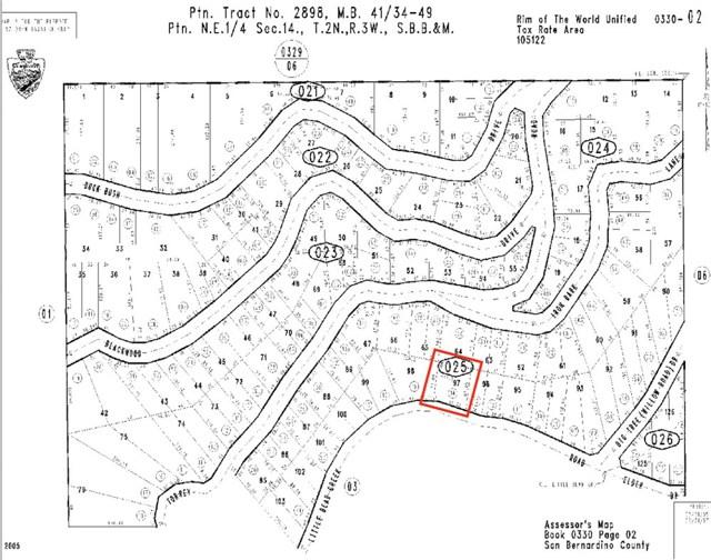 0 Little Bear Creek Road, Cedar Glen, CA 92321