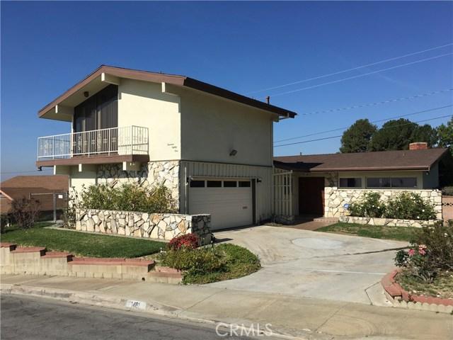 1481 Solar Drive, Monterey Park, CA 91754