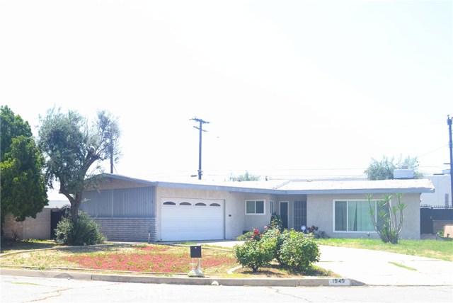 1545 Orchid Drive, San Bernardino, CA 92404