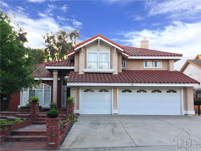 317  Amber Ridge Lane, Walnut in Los Angeles County, CA 91789 Home for Sale