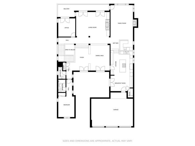 floor plan upper level