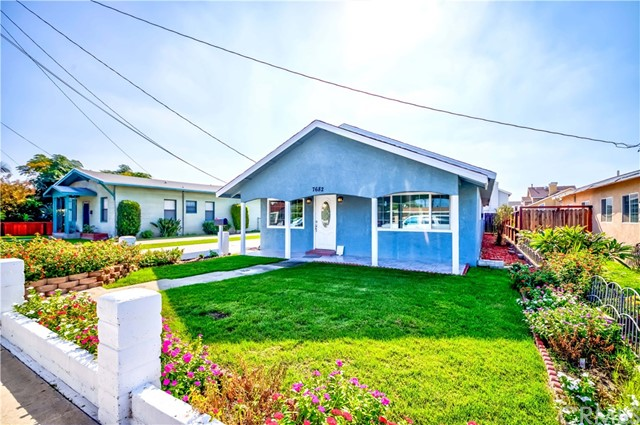 Welcome Home to 7682 11th St. in the high in demand City of Buena Park! This home features 3 Bedrooms + additional Bonus Room and 2.5 Bathrooms w/Approx. 1,316 Sq. Ft. of generous Living Space & Approx. 6,250 Sq. Ft. Lot! Completely move in ready, Large Open Floor plan w/wood laminate flooring & Elegantly Remodeled Kitchen w/granite counter top, abundant cabinet space w/newer appliances, breakfast bar & more. Master bedroom w/ample closet space & ensuite remodeled bathroom! Remaining Bedrooms are abundant w/ ample closet space & share a remodeled Hallway Bath! Bonus features Inc; Laminate flooring, recessed lighting, crown molding, dual pane windows, indoor laundry area & more! Huge driveway w/Detached 2 Car Garage & tons of Storage Space. Home is in a very family friendly neighborhood & is the perfect fit for any family! Plus; Centrally Located Close to Schools, Dining, Shopping, Entertainment, easy freeway commute & So Much More! Don't miss this great opportunity… this one will not last!!
