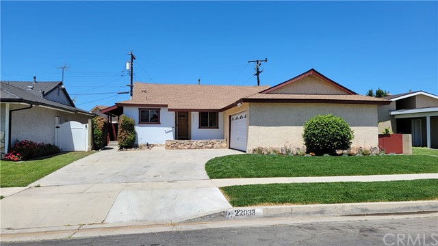 22033 Newkirk Avenue Carson, CA 90745