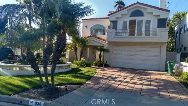 939 1st Street, Manhattan Beach, California 90266, 4 Bedrooms Bedrooms, ,4 BathroomsBathrooms,For Sale,1st,IN20208835