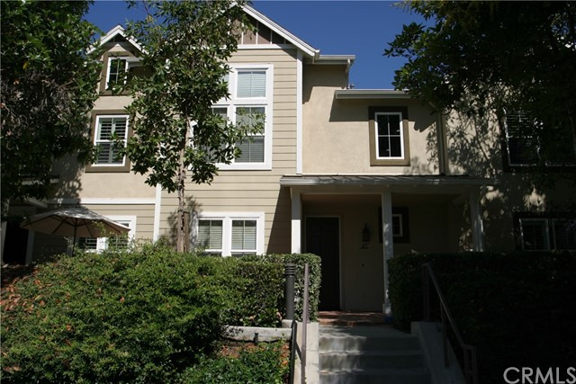 Very desirable Townhome Located at the Branches Community centrally located in the Heart of Ladera Ranch. One of the best locations in the complex! Your opportunity to call this wonderful 3 bedroom with a loft from the Master Bedroom, 2.5 baths your home. This unit is built for a person who likes the spacious feel of a great kitchen and great room. There is a backyard patio great for a BBQ off the kitchen. This roomy kitchen offers all stainless appliances, granite countertop, plus major cabinet space. The separate living room features a fireplace that serves both the living room and great room with beautiful wide plank hardwood flooring throughout the downstairs. Neutral carpets on the stairwell and the entire of the upstairs. All bedrooms are up. The roomy laundry has a sink and storage space, located on the 2nd floor for convenience. Master suite features a bath with dual sinks and a separate tub and walk-in shower, walk-in closet, and the private loft, great for an office or a retreat. Secondary bedrooms are generous in size and share a Jack n' Jill bathroom with tub and shower. The front patio is very large and can accommodate a lot of patio furniture. In addition to enjoying the association amenities, you are moments away from Founders Park, Plunge Pools, Skate Park, Hiking Trails, not to mention all of the local dining, shopping, and entertainment. Your dream Ladera Ranch lifestyle awaits you. Don't wait this will go fast.