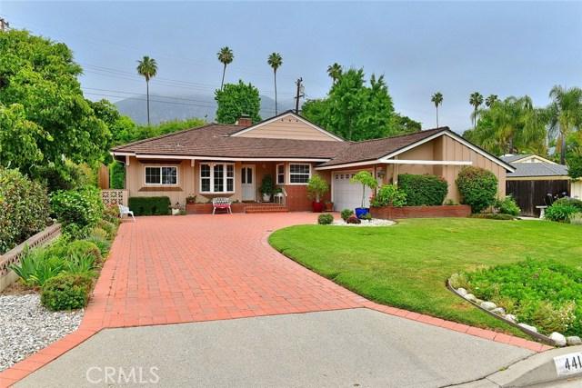 441 Santa Anita Court, Sierra Madre, CA 91024