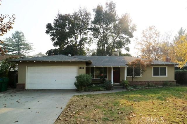 917 W 12th Avenue, Chico, CA 95926
