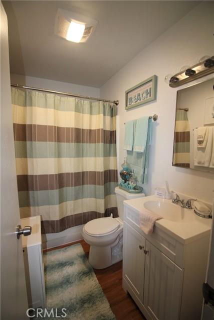 Full size upgraded bathroom