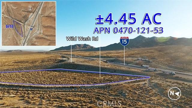 0 Wild Wash Road, Helendale, CA 92368