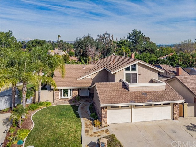 One of Anaheim Hills 4 Bedroom Homes for Sale at 5407 E Indian Wells Court