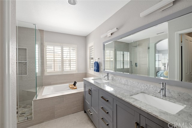 light and bright remodeled bathroom