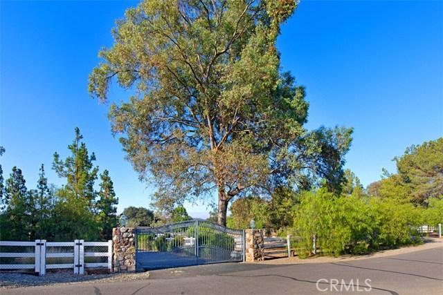 38130 Carrillo Road, Ortega Mountain, CA 92562