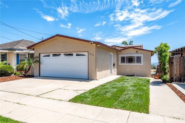 420 N Hanford, San Pedro, CA 90732