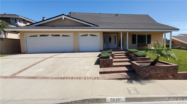 You will enjoy the beauty of this 4 bedroom 3 bathroom highly upgraded North Hills home on a cul-de-sac in a very quiet area of Brea.  There are many upgrades including: custom remodeled kitchen and bathrooms, flooring, windows, electrical, landscaping and plumbing.  The downstairs bedroom with a large walk in shower are both wheelchair accessible as is the private entrance with a ramp.  There is an eating area in the kitchen along with a formal dining room.  The living room can be formal or just another place to hang out. The large custom landscaped back yard has a fire pit, fountain and covered patio, making it perfect for those cool summer evenings or just a great place for the kids to play. There is a large producing avocado tree in the back corner for all the avocado lovers.  Upstairs, the master suite has two large closets, and the bathroom has a Jacuzzi tub.  You can lay in bed and enjoy a view of the hills.  There are two additional bedrooms along with a remodeled bathroom upstairs.  The oversize 3 car garage has storage above and there is additional storage off the master bedroom in the walk-in attic.  The laundry area is inside by the downstairs bathroom.  You will not be disappointed by this home.
