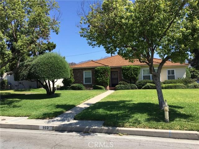 903 Portola Drive, Arcadia, CA 91007