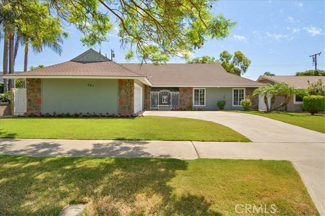 581 N Heatherstone Drive, Orange, CA 92869