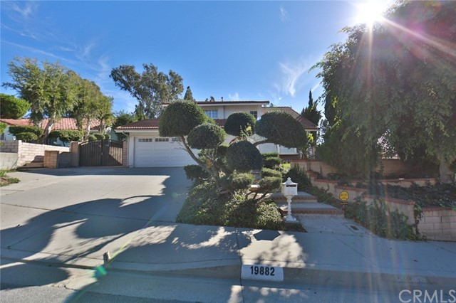 19882  Calle Lago, Walnut in Los Angeles County, CA 91789 Home for Sale