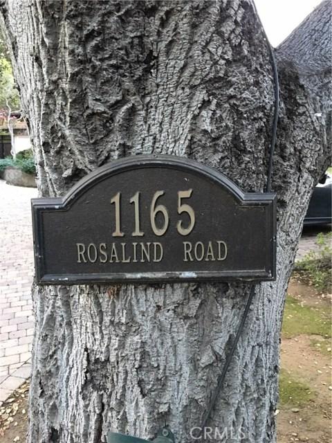 1165 Rosalind Road, San Marino, CA 91108