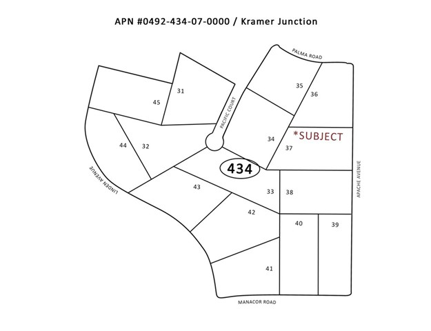 0 Apache Avenue, Kramer Junction, CA 93516