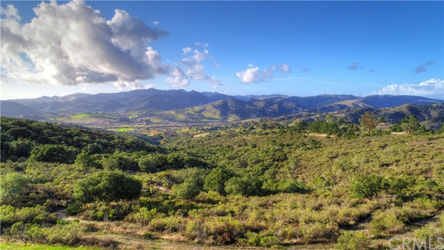 A large piece of paradise awaits in the Central Coast! A hidden slice of heaven located in the coast hill sides offering Ocean Views, private nature retreat and potential for anything your heart and imagination can dream of. With proven wells, springs and established homestead with the unique micro climate of San Luis County, create your own private family estate. The lower section of land is flat with a primary single story home. Constructed with pecky cedar wood framing for a cabin like feel. Two modular homes on the property for potential income or guest residence. This location fits the needs for all! Travel up to the top of the property and find yourself gazing over the Central Coast and looking out towards the pacific Ocean. This beautiful hill side can be your play ground, hunting grounds, dream home site or farm land. San Luis Obispo county offers an abundance of hiking, biking, wine tasting and outdoor amenities. This location is in the heart of it all! Have your own hiking, biking and winery or venture off to explore the areas amenities. Owning your own coastal hill side is still possible, and this is your moment.
