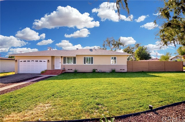Fully remodeled single level home in the high in demand area of La Habra! This lovely home sits on a sprawling appx. 10,005 sq ft corner lot, offering 3 bedrooms, 1 bathroom & appx 1,040 sq ft of living space! You'll be in awe as you pull up to the freshly landscaped exterior w/lush green grass, modern fencing & newly painted neutral color tones of the home. Great functional floor plan w/modern wood laminate flooring. tons of dual pane windows/plantation shutters & is absolutely light n bright! Living room opens up to the dining area w/sliding glass door that opens up to your huge backyard. Country chic kitchen w/granite countertop, accent backsplash, stainless steel appliances, oversized farm sink & gorgeous off white custom cabinets. All bedrooms are abundant in size & share a large hallway remodeled bath! On top of it all, Backyard is an open canvas with endless possibilities! Nicely sized covered patio to entertain guests & tons of space to build a pool, bbq, RV parking & so much more! 2 car garage plus large oversized driveway for ample parking space. More Great Features include; Remodeled Kitchen & Bath, Central AC/Heat, Recessed lighting, Dual pane windows, Plantation shutters, Modern flooring, Indoor laundry space & more! Centrally located near dining, entertainment, schools, parks, community centers & easy commute! Don't miss the opportunity to own this beautiful home. This one will not last!