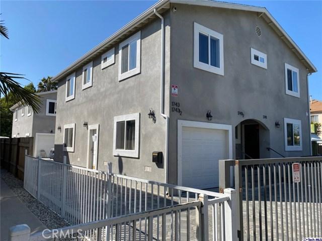 1741 Hauser Boulevard, Los Angeles, CA 90019
