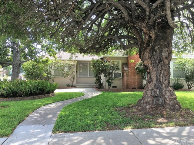 Tree covered corner lot, on quiet street; Traditional style home has been well maintained 2 Bedroom 1 Bath, Den, Laundry Room, Patio, Hard Wood Floors, 2 window AC units and 1 car garage - Temple City Schools