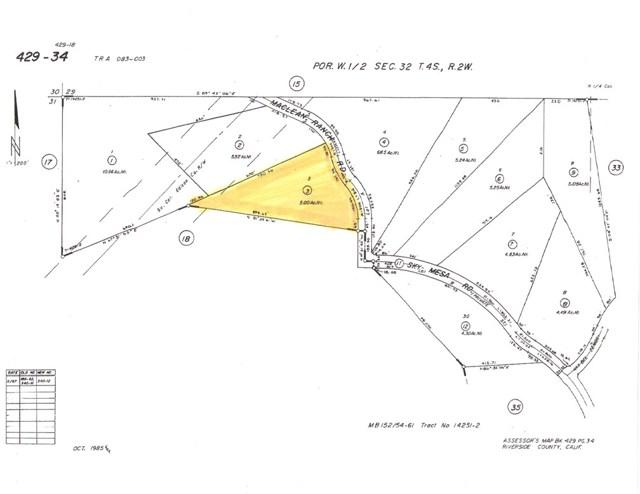 22991 Sky Mesa Rd, Juniper Flats, CA 92548 Photo 1