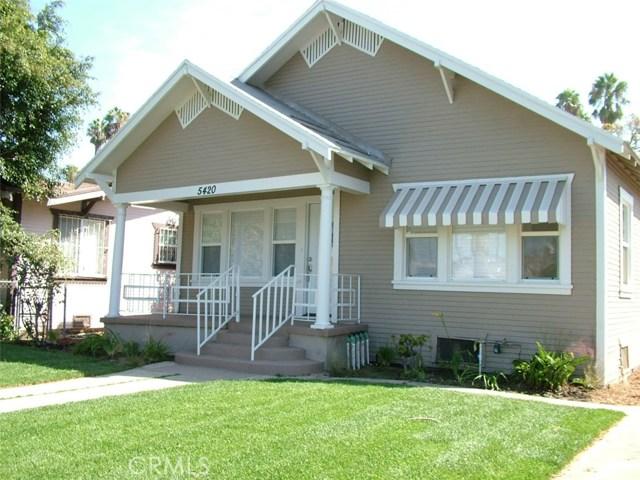 5420 S Wilton Place, Los Angeles, CA 90062