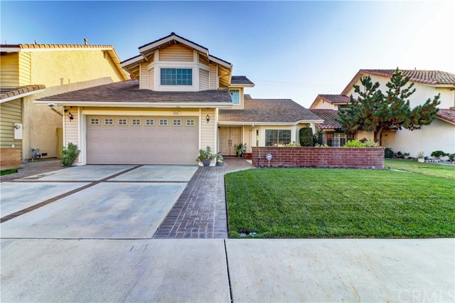 This impressive home is located in the choicest spot in the neighborhood. Curb appeal abounds with its custom mailbox stand, meticulously maintained lawn, and Malibu lighting. It sits tucked in the corner of the development and backs to a empty lot with a 12 foot wall for the utmost in privacy. It is centrally located for all the conveniences. The house has been repainted and re-roofed. It features dual-paned windows, large HVAC system with new ducting with HEPA filter and air purifier, hardwired security system, water softener, Medeco locks, and new water heater. The floorplan flows with its sunken living room with vaulted ceilings and bay window, dining area and separate family room. There's a bedroom and full bath downstairs currently set up as an amazing 2-person office with all the space/wiring one needs to run their business from home. The kitchen has been remodeled with Silestone counters, stainless appliances, and has lots of storage.  The cabinets have pull outs and there's a large pantry. The family room has been converted to a media room with 7 surround sound speakers.  The garage has cabinets galore and a full workbench. The master bedroom has a dual door entry, remodeled bathroom and large walk in closet. The backyard is large, low maintenance, and perfect for entertaining with wired outdoor speakers. It's plumbed for gas and electric for a spa, has 3 fountains, and gas firepit. Don't miss your opportunity to own this beautiful home!