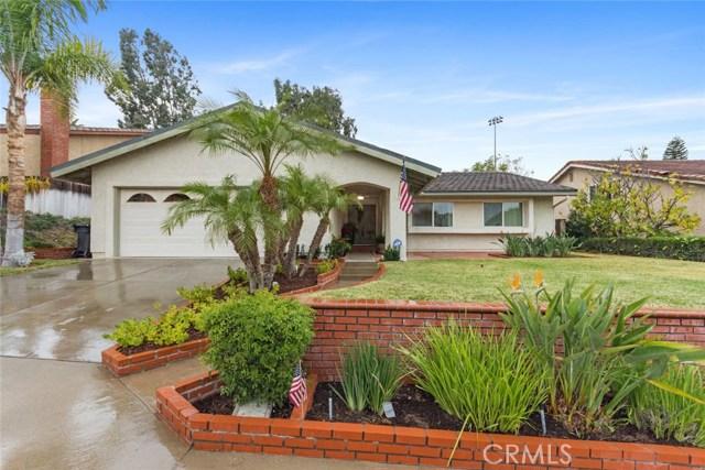 One of Single Story Yorba Linda Homes for Sale at 19911  Malaga Lane