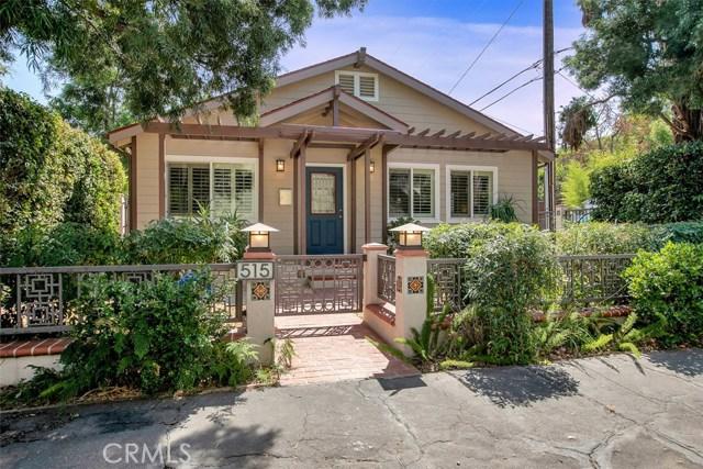 515 Palm Court, South Pasadena, CA 91030