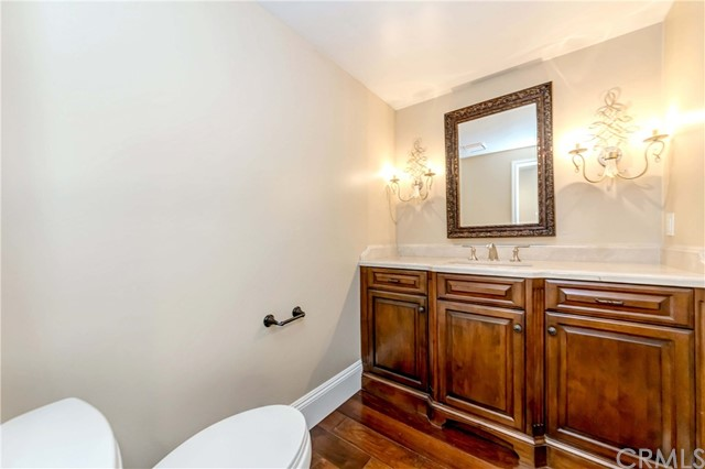 Down stairs powder room
