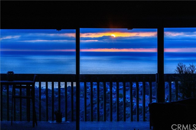 Sunset viewed from the Living Room