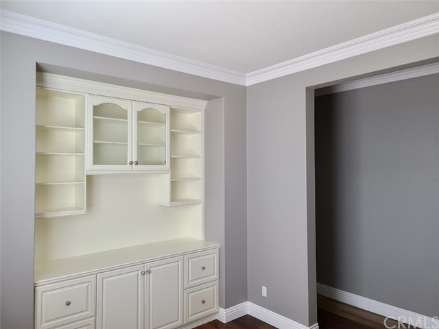 Built in Cabinets in the office