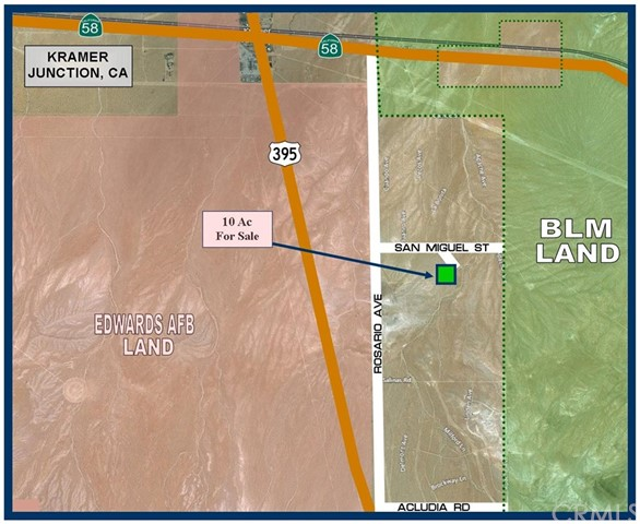 0 Near San Miguel St., Kramer Junction, CA 93516