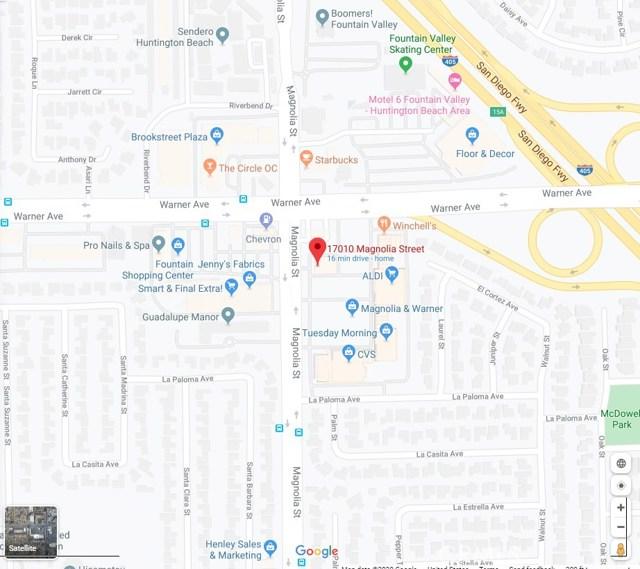 17010 Magnolia Street, Fountain Valley, CA 92708